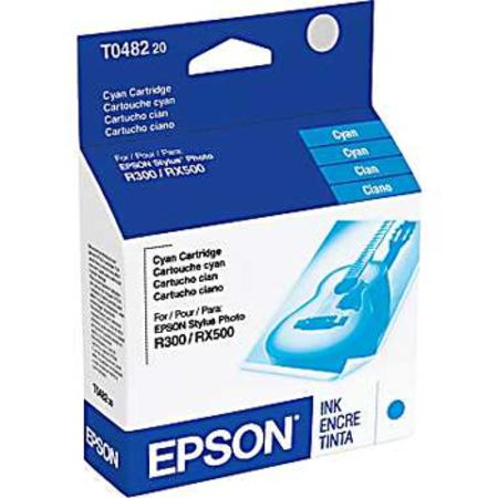 Epson T0482 (T048220) Original Cyan Ink Cartridge