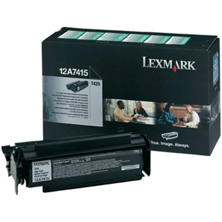 Lexmark 12A7415 Original Black Toner Cartridge