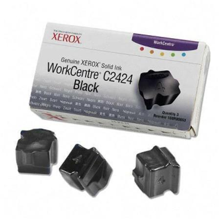 Xerox 108R00663 Compatible Black Ink Sticks (Pack of 3)