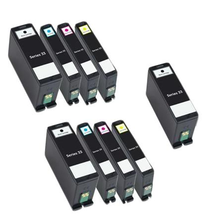 331-7377/78/79/80 2 Full Set + 1 EXTRA Remanufactured Ink