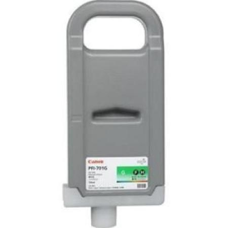 Compatible Green Canon PFI-701G Ink Cartridge (Replaces Canon 0907B001AA)