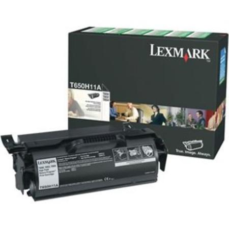 Lexmark T650H11A / T650H21A Black Original High Yield  Return Program Laser Toner Cartridge