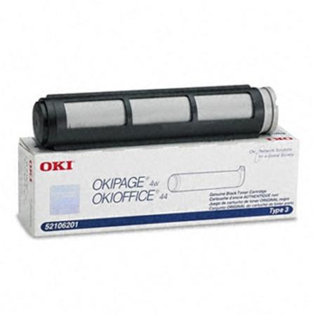 OKI 52106201 Original Black Laser Toner Cartridge