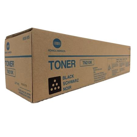 Konica-Minolta TN210 (8938-505) Black Original Toner Cartridge