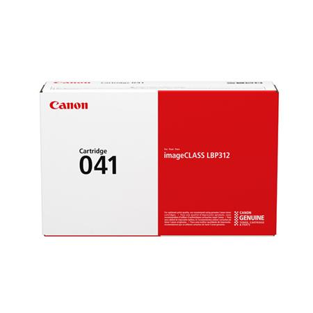 Canon 041BK Black Original Standard Capacity Toner Cartridge (0452C001)