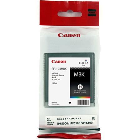 Canon PFI-101MBK Matte Black Original Ink Cartridge