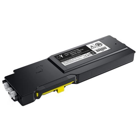 Compatible Yellow Dell XMHGR High Capacity Toner Cartridge (Replaces Dell 593-BCBD)