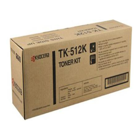 Kyocera TK-512K Original Black Laser Toner Cartridge