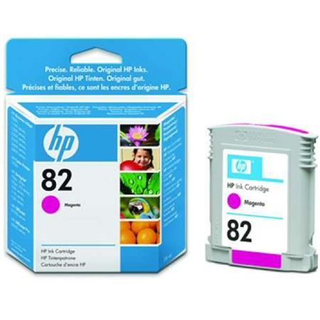 HP 82 (CH567A) Original Magenta Inkjet Cartridge - 28ml