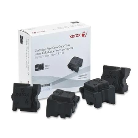 Xerox 108R00994 Black Original Solid Ink Cartridge 4 pack