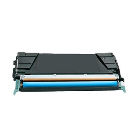 Compatible Cyan Lexmark X746H1CG High Yield Toner Cartridge