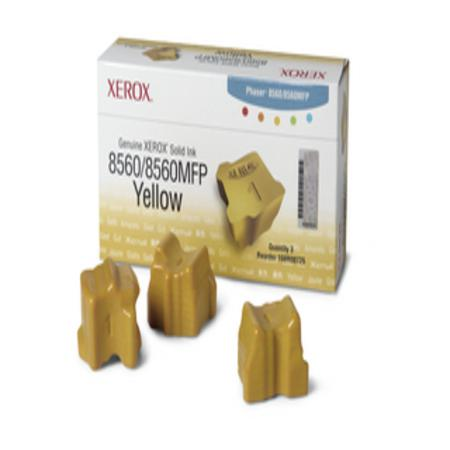 Xerox 108R00725 Original Yellow Ink Sticks (Pack of 3)-USA Made