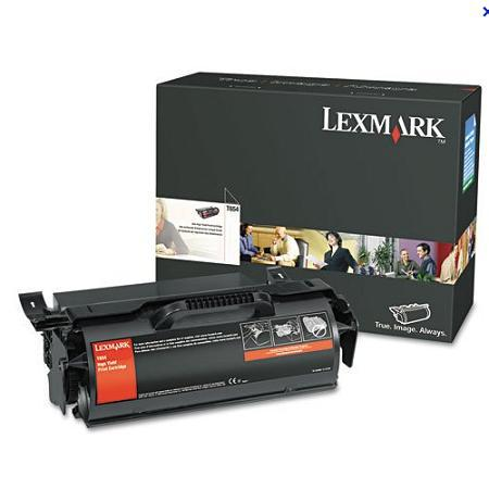 Lexmark T654X21A / T654X11A Black Original Extra High Yield Toner Cartridge