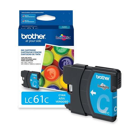 Brother LC61C Original Cyan Standard Capacity Ink Cartridge