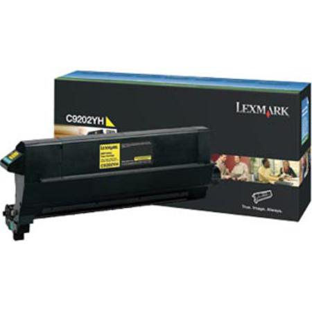 Lexmark C9202YH Original Yellow Toner Cartridge