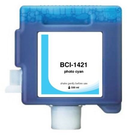 Compatible PhotoCyan Canon BCI-1421PC Ink Cartridge (Replaces Canon 8371A001AA)