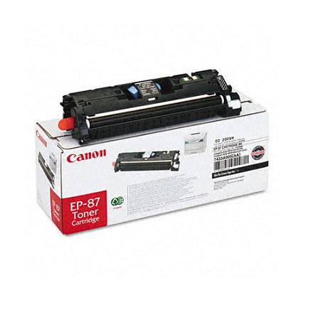 Canon EP-87 Original Black Toner Cartridge (7433A005AA)