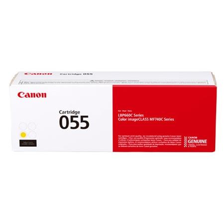 Canon 055 (3013C001) Yellow Original Standard Capacity Toner Cartridge