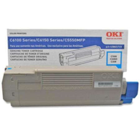 OKI 43865719 Cyan Original Toner Cartridge