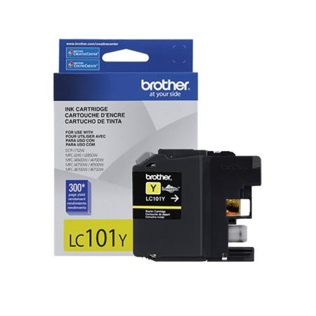 Brother LC101Y Yellow Original Standard Capacity Ink Cartridge