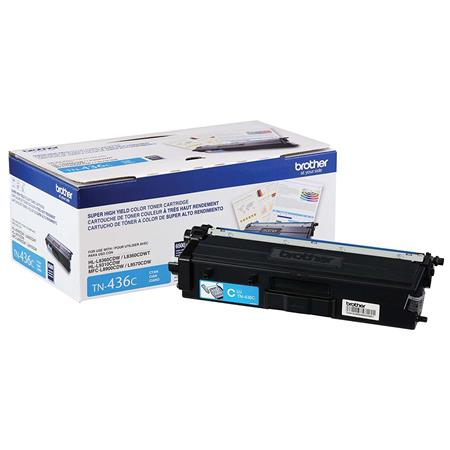 Brother TN436C Cyan Original Extra High Capacity Toner Cartridge
