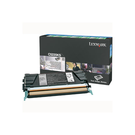 Lexmark C5226KS Original Black Laser Toner Cartridge