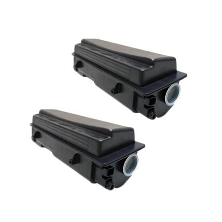 TK-132 Black Remanufactured Toners Twin Pack