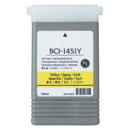Compatible Yellow Canon BCI-1451Y Ink Cartridge (Replaces Canon 0173B001)