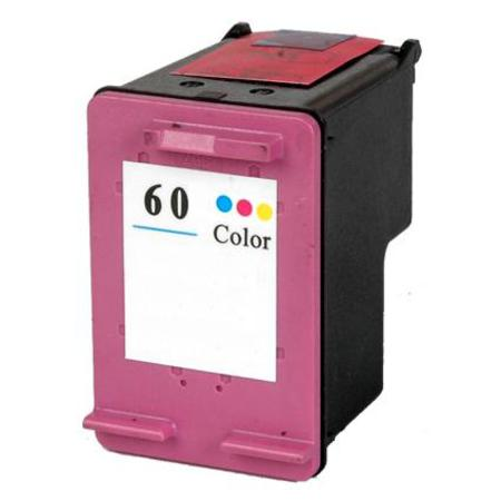 HP 60 Remanufactured Tri-Color Standard Capacity Ink Cartridge (CC643WN)