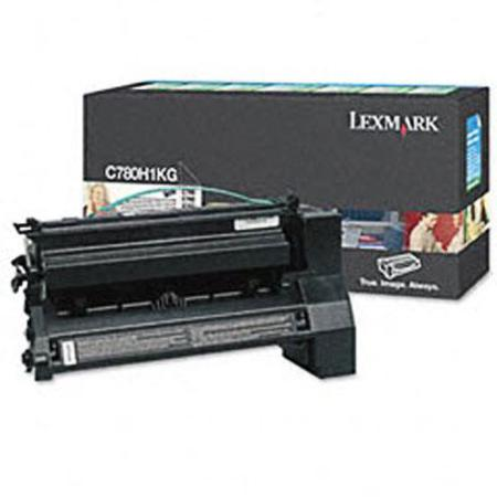 Lexmark C780H1KG Black Original High Yield Return Program  Laser Toner Cartridge