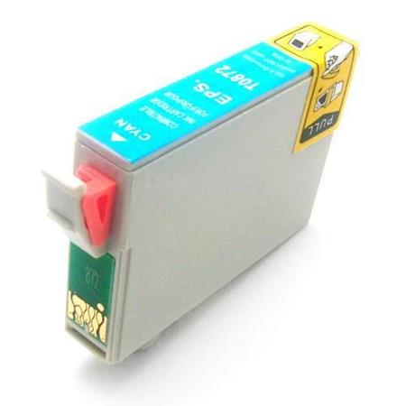 Epson T0872 (T087220) Cyan Remanufactured Cartridge