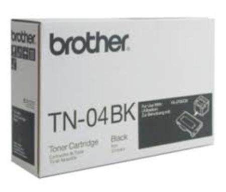 Brother TN04BK Original Black Laser Toner
