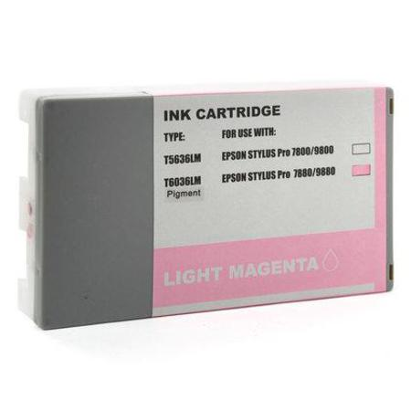 Compatible Light Magenta Epson T6036 Ink Cartridge (Replaces Epson T603600)