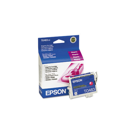 Epson T0483 (T048320) Original Magenta Ink Cartridge