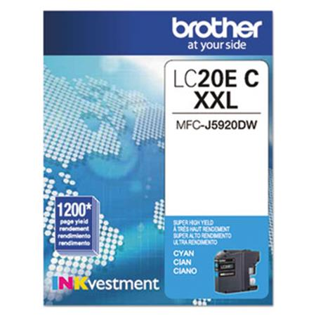 Brother LC20EC Cyan Original Print Cartridge