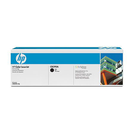 HP CB390A Original Black Laser Toner Cartrdige With Color Sphere