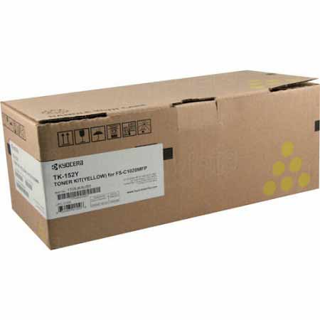 Kyocera Mita TK-152Y Yellow Original Toner Cartridge