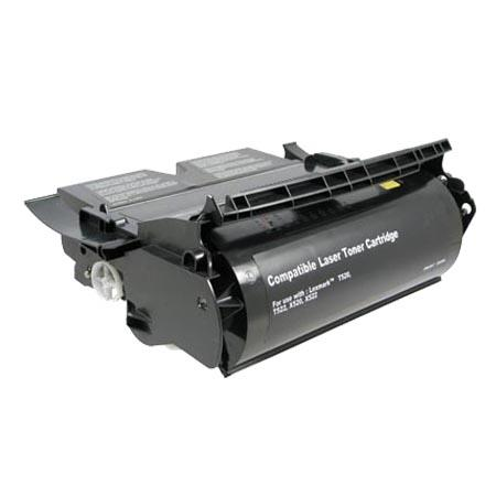 Lexmark 12A6735 Remanufactured Black High Yield Toner