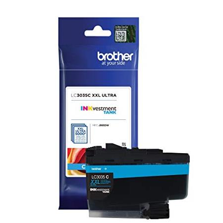Brother LC3035C Cyan Original Ultra High Capacity Ink Cartridge