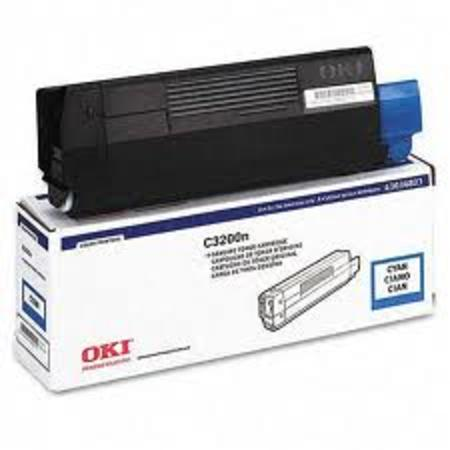 OKI 43034803 Cyan Original Laser Toner Cartridge