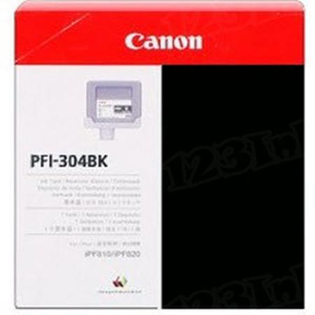 Canon PFI-304BK Original Black Ink Cartridge