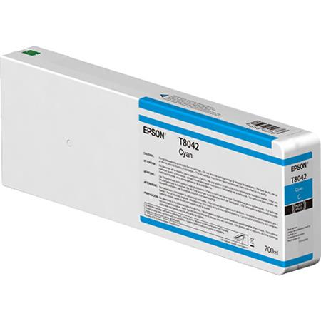 Epson T8042 (T804200) Cyan Original UltraChrome HD Ink Cartridge (750 ml)