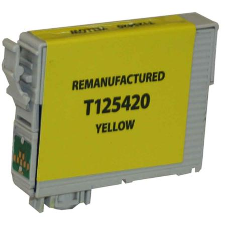 Compatible Yellow Epson 125 Ink Cartridge (Replaces Epson T125420)