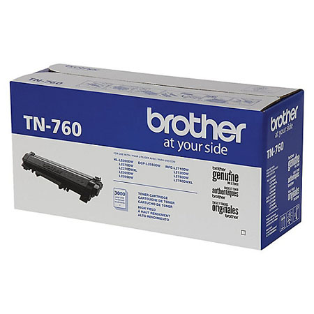 Brother TN760 Black Original High Capacity Toner Cartridge
