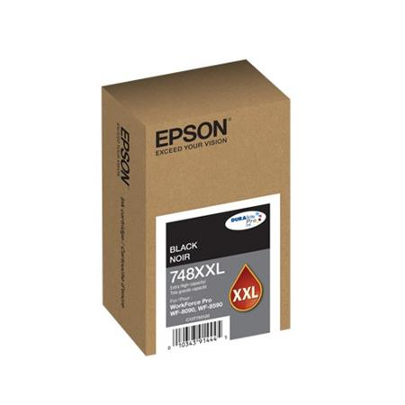 Epson 748XXL (T748XXL120) Black Original Extra High Capacity Ink Cartridge