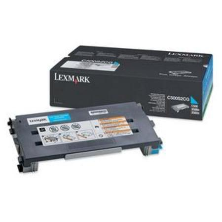 Lexmark C500 Original Cyan Toner Cartridge
