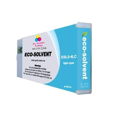Compatible Light Cyan Roland ESL3-4LC Eco-Sol Max High Yield Ink Cartridge