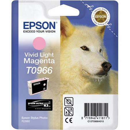 Epson T0966 (T096620) Original Vivid Light Magenta Ink Cartridge