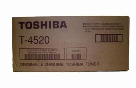 Toshiba T-4520 Black Original Toner Cartridge