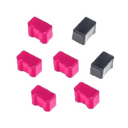Compatible 5 Magenta/2 Black Xerox 016190401 Solid Ink Cartridge